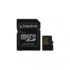 Карта памяти Kingston microSDHC 32GB Class 10 R90/W45MB/s + SD адаптер